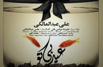 این اولین عیدیه که نیستی کنارم علی عبدالمالکی